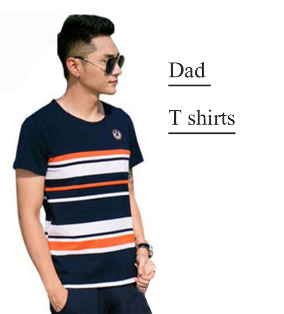 450d15a819cd8 Family Matching Outfits 2018 Summer Fashion Striped T-shirt Outfits Mother  And Kids