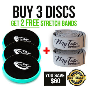 Buy 3 Blue Discs Get 2 Free Stretch Bands (Most Popular)