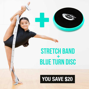 1 Blue Disc + 1 Stretch Band