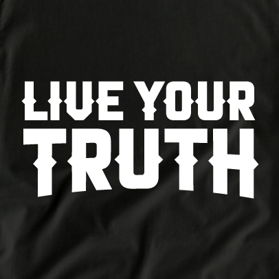 Live Your Truth Tee (B)