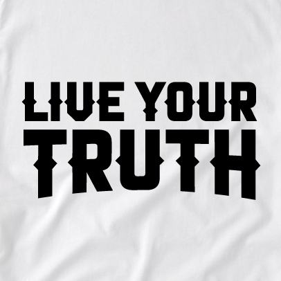 Live Your Truth Tee (W)