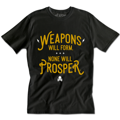 Weapons Gold Foil Tee