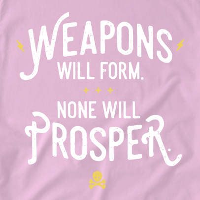 Weapons Pink Crewneck