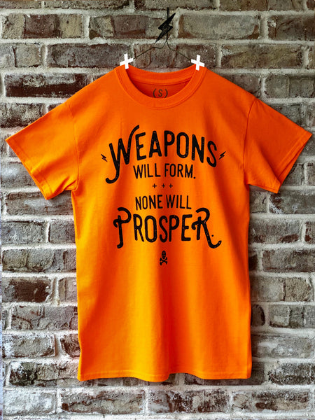 Weapons Neon Orange Tee