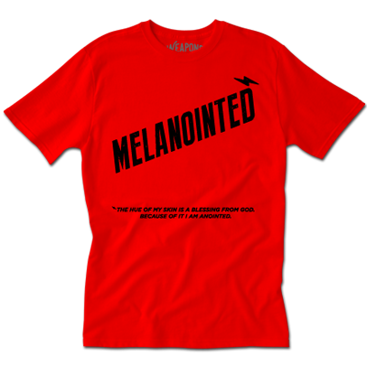 Melanointed Tee (Red)