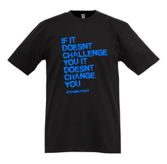 "Teamsport Shirt ""CHALLENGE"" schwarz"