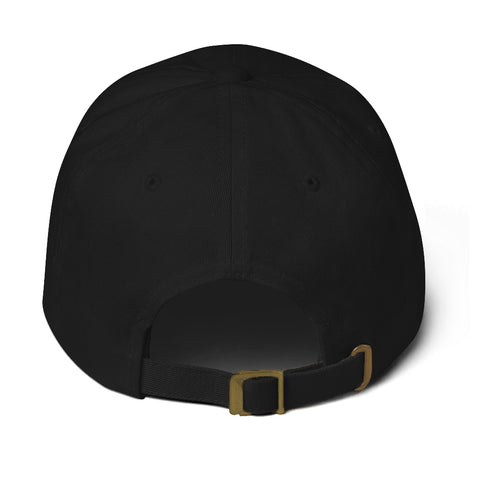 J Logo Dad Hat (Black)