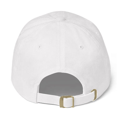 J Logo Dad Hat (White)