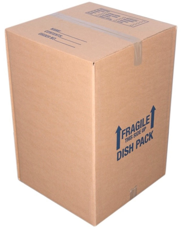 Dish Pack, 5.2 cu.ft. 18 x 18 x 28 DW - Boxes To Go