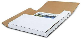 "LP Mailer 12.5 x 12.5 x .5"" - 2"" - Boxes To Go"