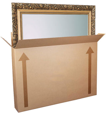 "Picture/Mirror Box -  36"" x 5"" x 30"""