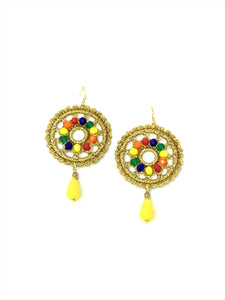 RAINBOW MEDIUM  EARRINGS