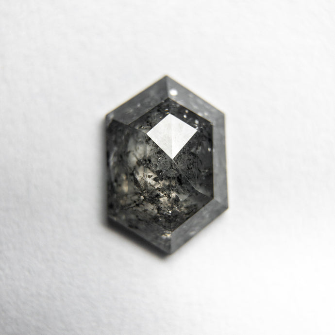 0.87ct 8.12x5.49x2.39mm Hexagon Rosecut 18061-14