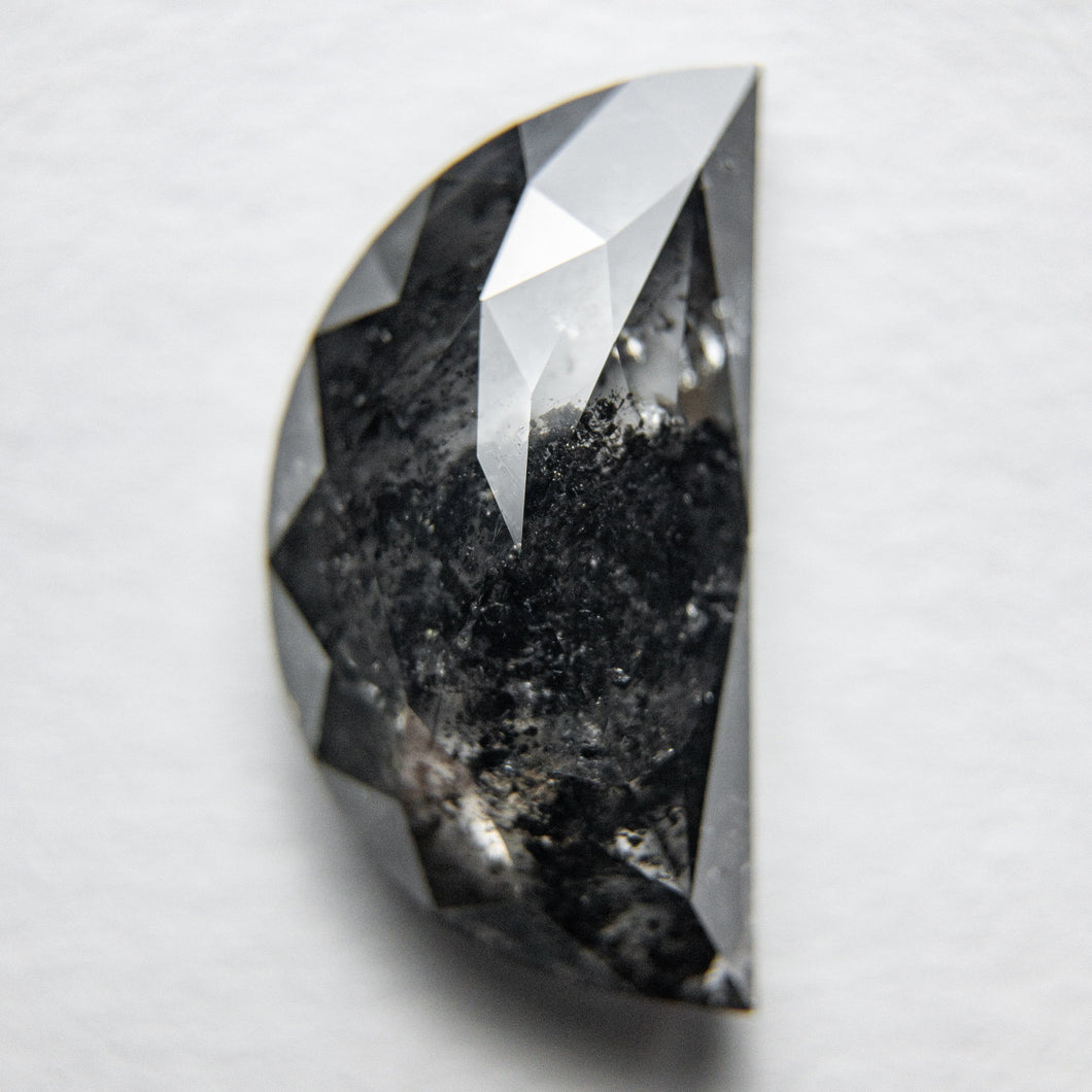 3.47ct 13.58x7.33x3.75mm Half Moon Rosecut 18119-20