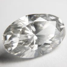 Load image into Gallery viewer, 6.22ct 15.14x9.74x6.45mm GIA SI2 Light Grey Oval Brilliant 18274-01