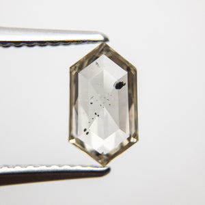 1.17ct 9.40x5.32x2.80mm Hexagon Rosecut 18369-06