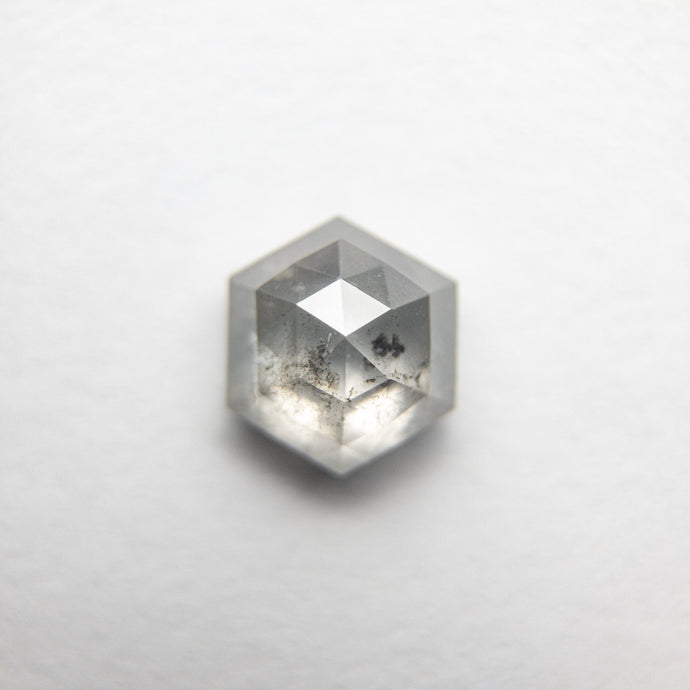 1.02ct 6.27x5.51x3.40mm Hexagon Rosecut 18386-01