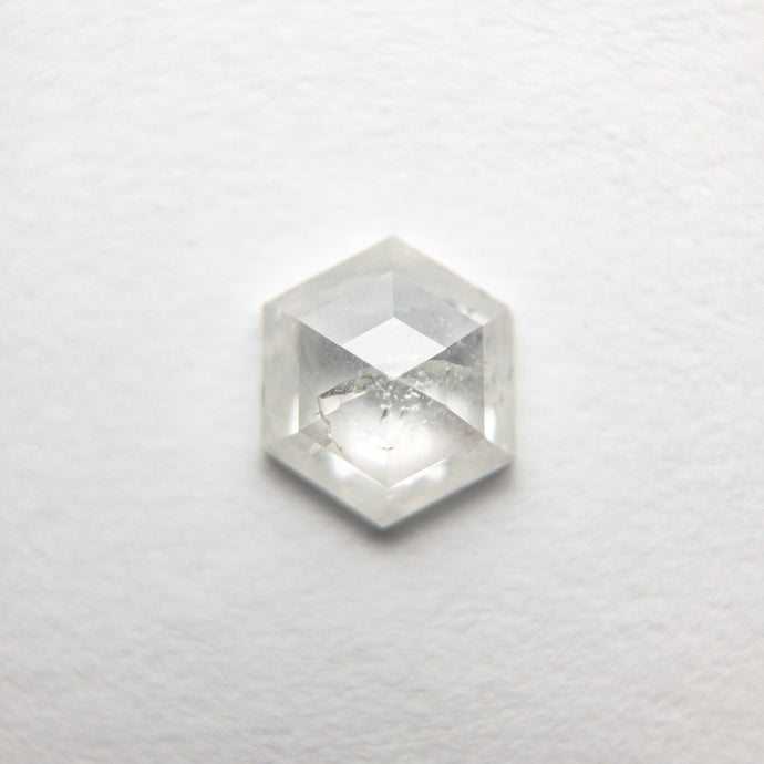 0.64ct 6.23x5.36x2.44mm Hexagon Rosecut 18386-03