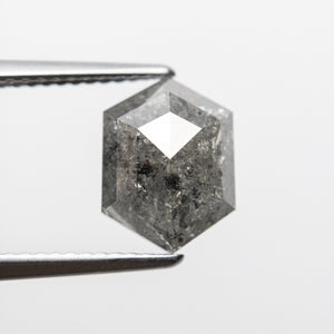 2.75ct 10.64x7.94x3.90mm Hexagon Rosecut 18407-03