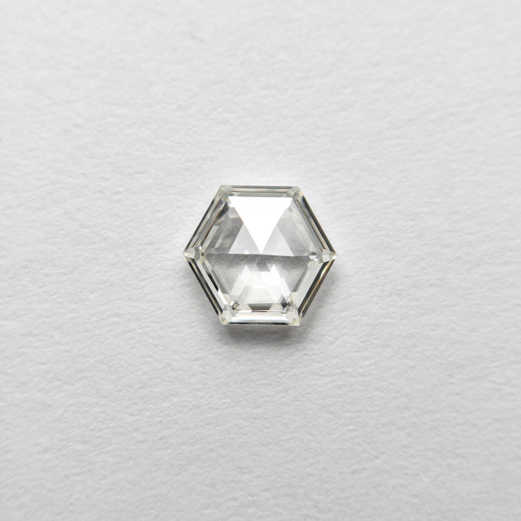 0.39ct 5.67x4.71x1.82mm VS2 H Hexagon Rosecut 18458-08 🇷🇺
