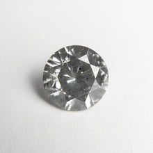 Load image into Gallery viewer, 1.93ct 8.00x7.97x4.77mm I1 Fancy Grey Round Brilliant 18671-02