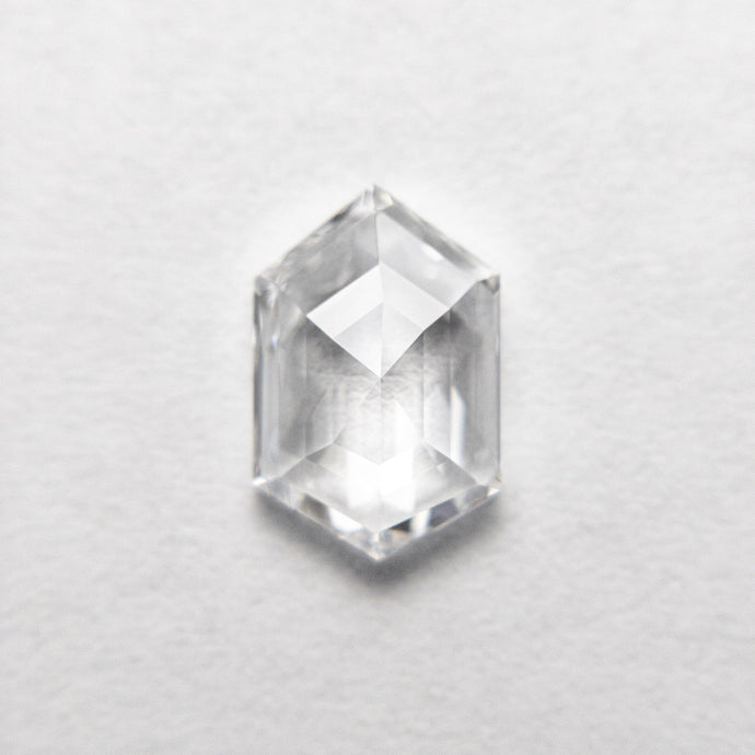 1.50ct 9.55x6.29x2.75mm GIA VVS1 D Hexagon Step Cut 18697-01