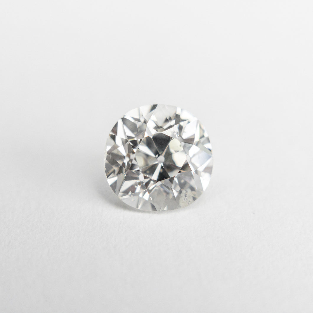 1.13ct 6.60x6.26x4.41mm GIA I1 H Antique Old European Cut 18822-01