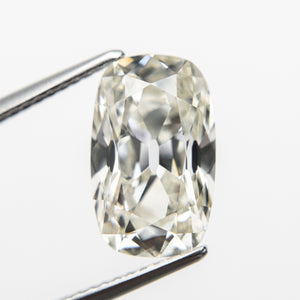 4.01ct 12.45x7.68x5.40mm GIA SI1 K antique Old Mine Cut 18888-01