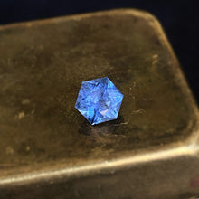 Load image into Gallery viewer, 2.45c Hexagon Blue Sapphire
