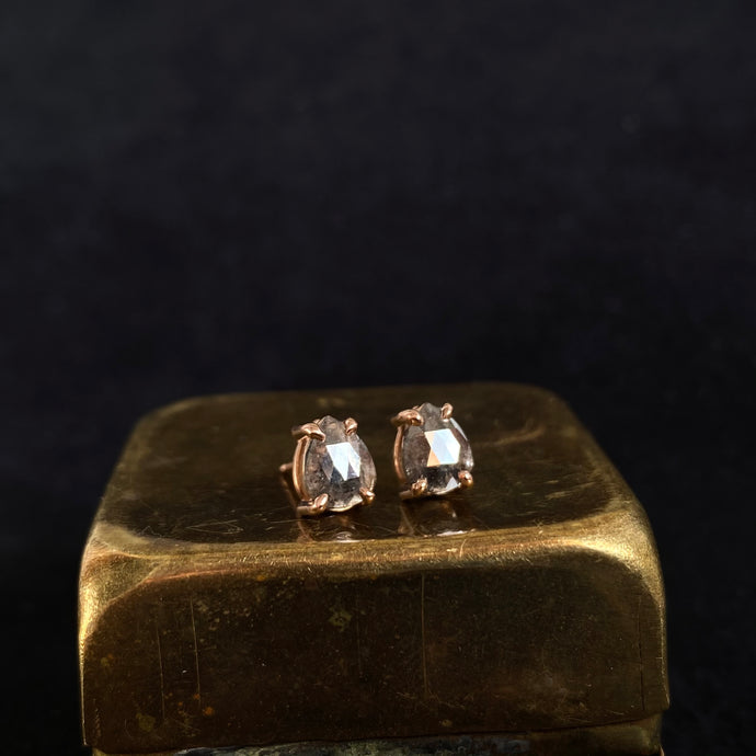 Kate Pear Diamond Studs