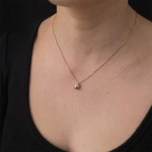 Load image into Gallery viewer, Nightingale Diamond Necklace
