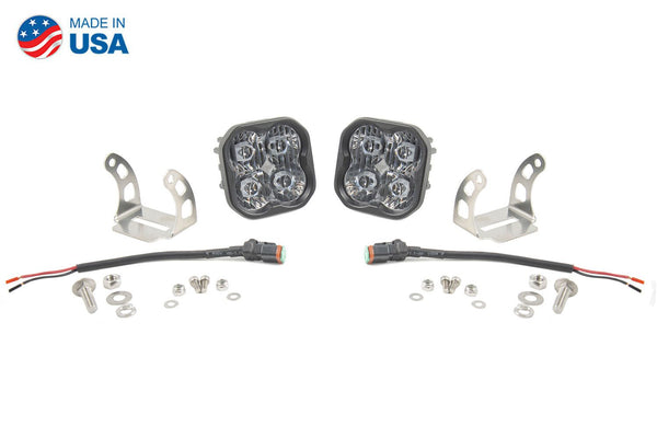 "Diode Dynamics Stage Series 3"" SAE/DOT White Sport Standard LED Pod (pair)"