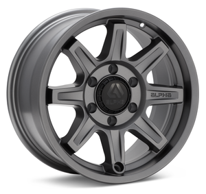 Alpha Equipt - Command: 17x8.5, 6x139