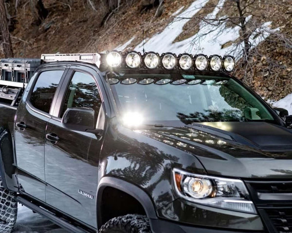"KC HiLiTES Chevy Colorado / GMC Canyon 50"" Gravity PRO6 Roof Rack System"