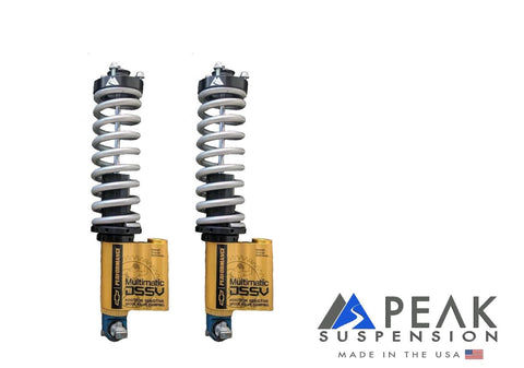 Peak Suspension ZR2 Front Coilover Conversion