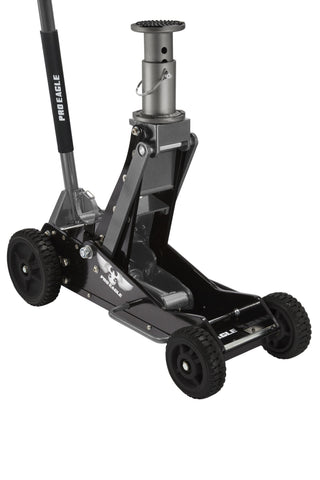 "Pro-Eagle 3 Ton Floor Jack, Big Wheel ""Kratos"""