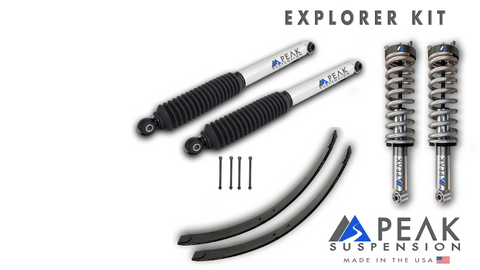 Peak Suspension Explorer Kit with AAL