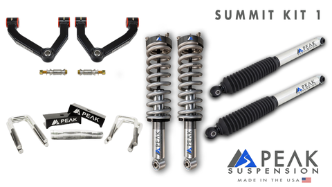 Peak Suspension Summit Kit