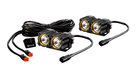 KC HiLiTES Flex LED Dual Pair Pack System (pr)