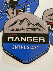 Ford Ranger Enthusiast Decal