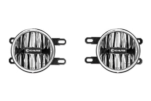 KC HiLiTES Led G4 Fog Light Pair, Clear [Toyota]