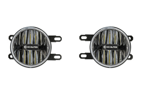 KC HiLiTES Led G4 Fog Light Pair, Amber [Toyota]