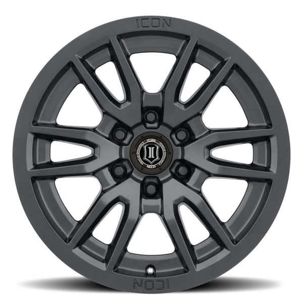 Icon Alloys Vector 6, 17x8.5, 6x120