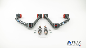 Peak Suspension Tubular Uniball Upper Control Arms [17+ ZR2]