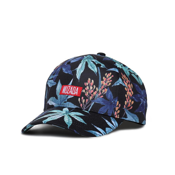 Night Floral Vibes Baseball Cap