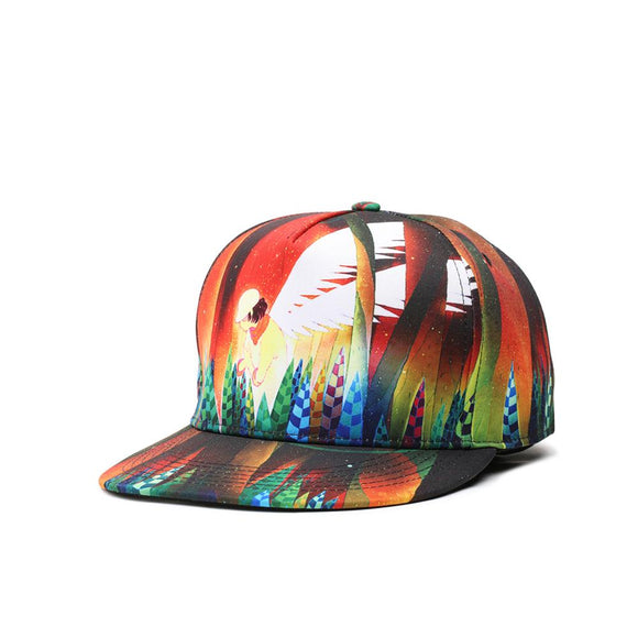 Cool and Colorful Hip Hop Caps