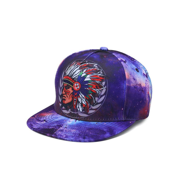 Indian Tribes Totem Hip Hop Cap