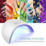 36W LED UV Nail Polish Dryer Lamp - kumdv