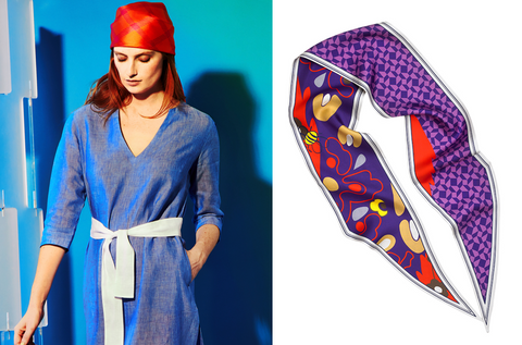 PDN London & Fariba Soltani Scarf Event