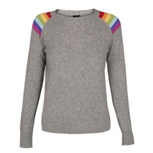 Load image into Gallery viewer, Hawaii Mid Grey Melange Lightweight Crew Neck